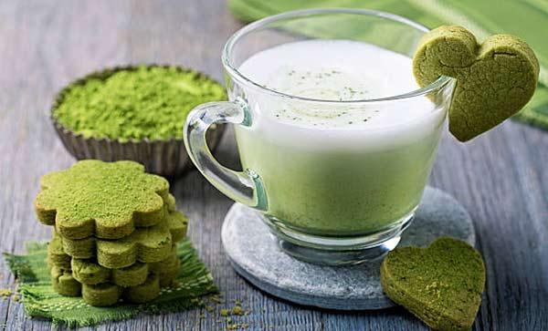 Смузи с зеленым чаем рецепт с фото