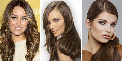 Цвета коричневого цвета для волос