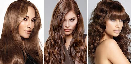 Цвет волос для тёплого цветотипа