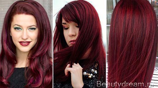 Волосы цвета вишни : лучшие изображения (16)