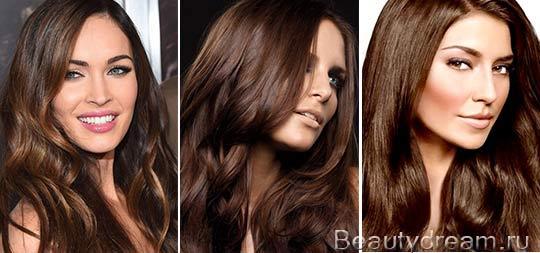 Цвет волос Шоколад — краски шоколадных оттенков, Hair colour: модный цвет волос, уход за волосами, оттенки красок для волос