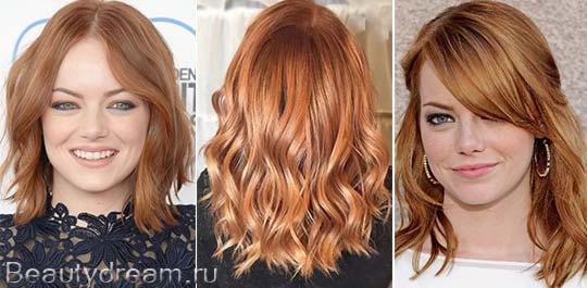 фото медно русый цвет волос