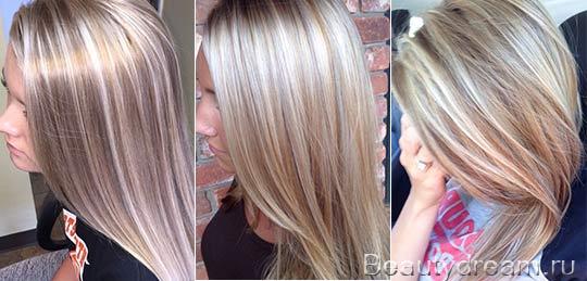 Мелирование на светлые волосы (50 фото) Все идеи