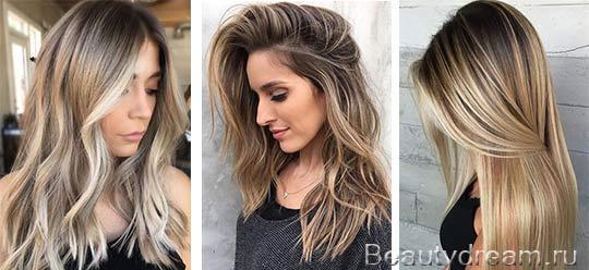 Мелирование волос с последующим тонированием