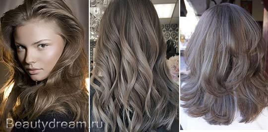 пепельно-русый цвет волос фото
