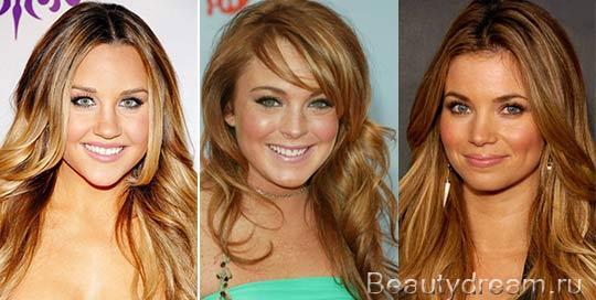 светло золотистый цвет волос