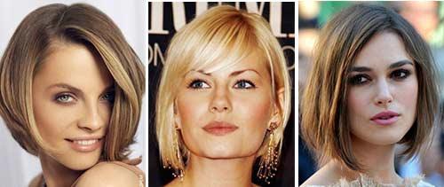 Подбор прически по форме и типу лица (с фото)