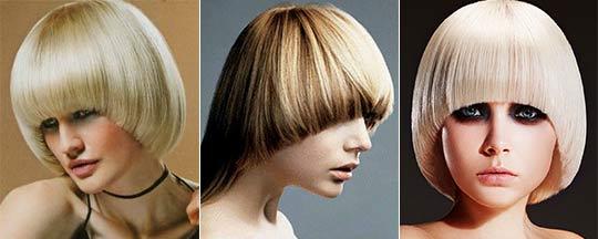 Стрижки на средние волосы фото паж