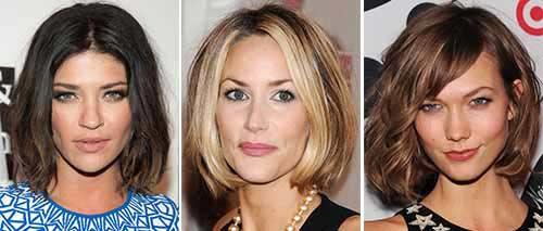 стрижки на средние волосы удлиненное лицо