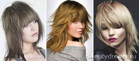 Женские причёски волчица