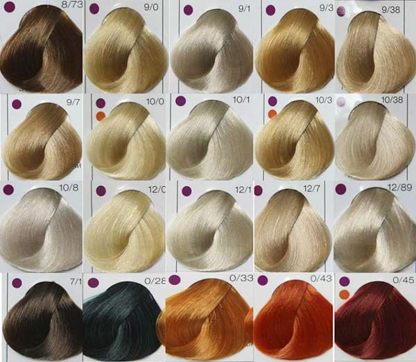 Лонда краска для волос палитра фото