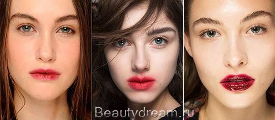 модный повседневный макияж