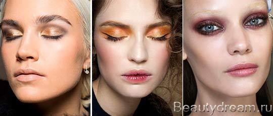 красивый модный макияж