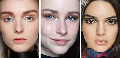 легкий модный макияж